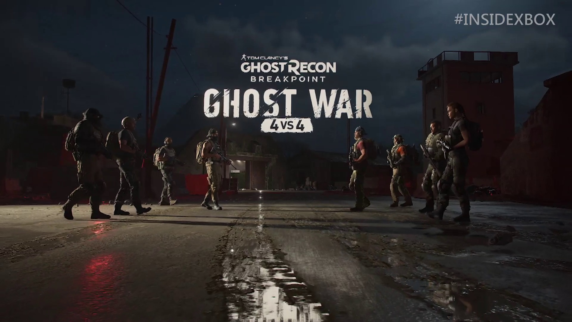 Ghost Recon Breakpoint Shows Off Ghost War Pvp Trailer At